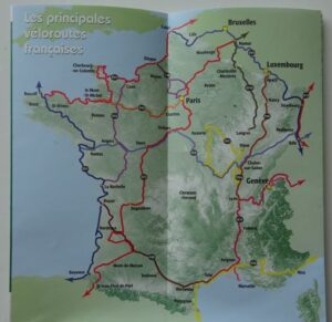 Greenways and Cycle Routes of France - the routes