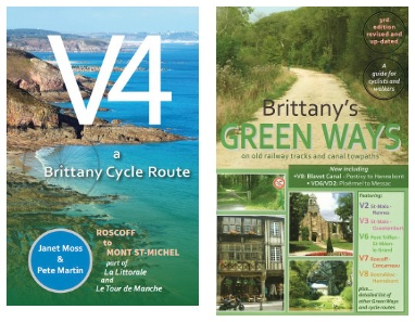Red Dog Books cycling guides to Brittany