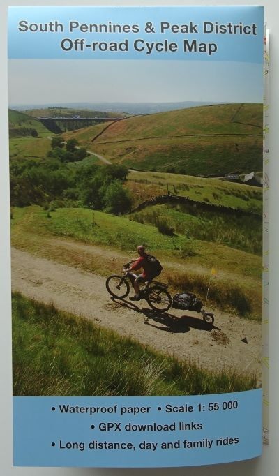 Southe Pennines and Peak District Off-road Cycle Map