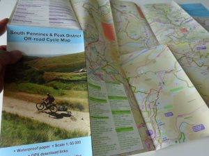South Pennines and Peak District Off-road Cycle Map