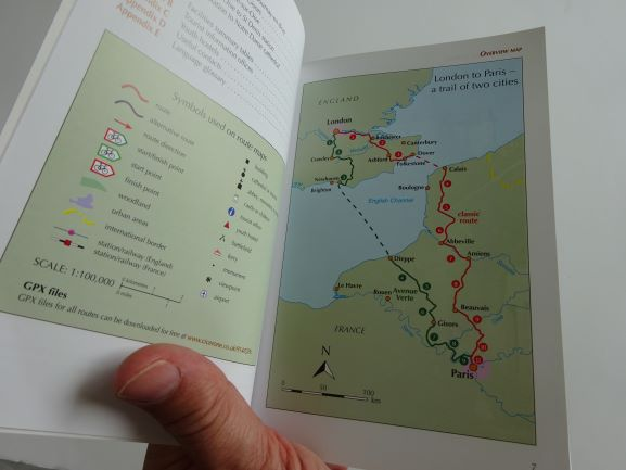 Cycling London to Paris - the routes