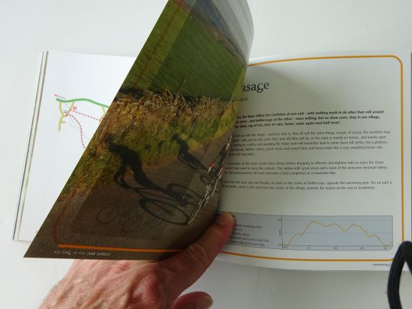 Cycling in the Peak District - Lanes and Trails - sample pages