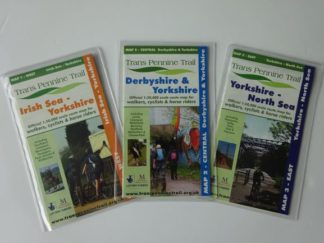 Trans Pennine Trail map set