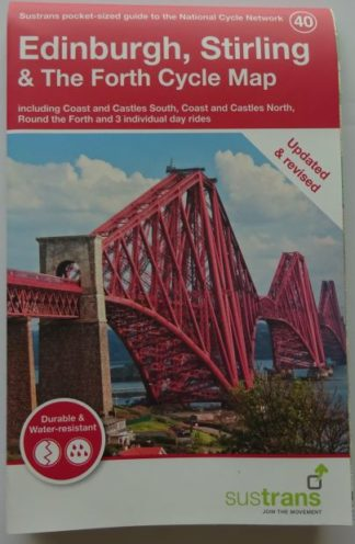 Edinburgh and Stirling Sustrans cycle map 2019