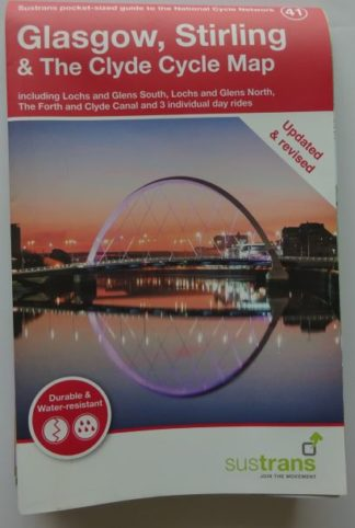 Glasgow and Stirling Sustrans cycle map 2019