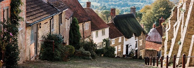 Cycling in Dorset: Shaftesbury - Gold Hill
