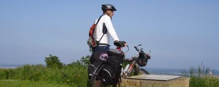 Cycling the Coast & Castles cycle route - Alnmouth