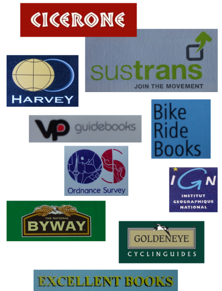 Cycle map and guide book publishers
