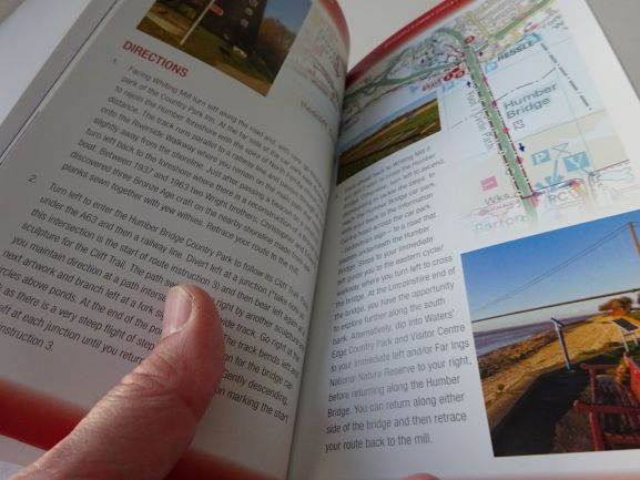 Family Cycle Rides - Yorkshire - sample page