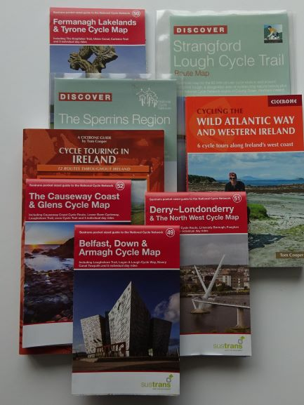 Ireland cycle guides and maps - Northern Ireland and the Republic of Ireland