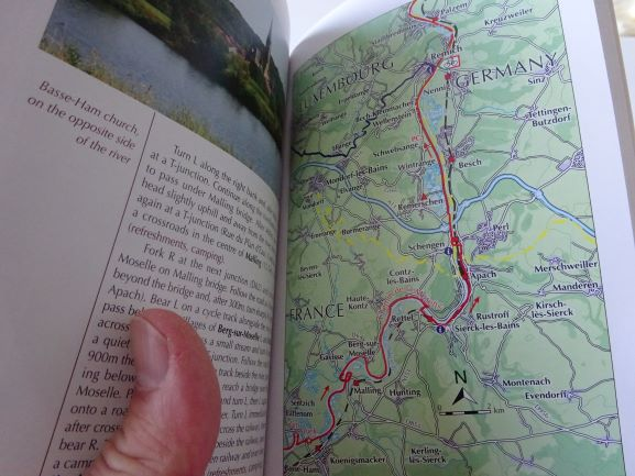 Moselle Cycle Route - sample pages