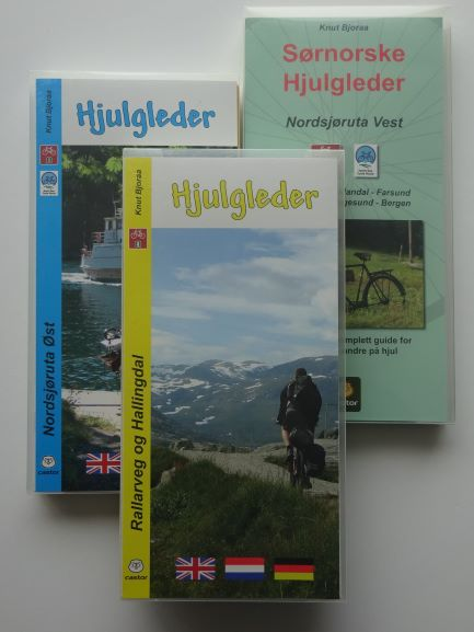 Norway cycle maps and books