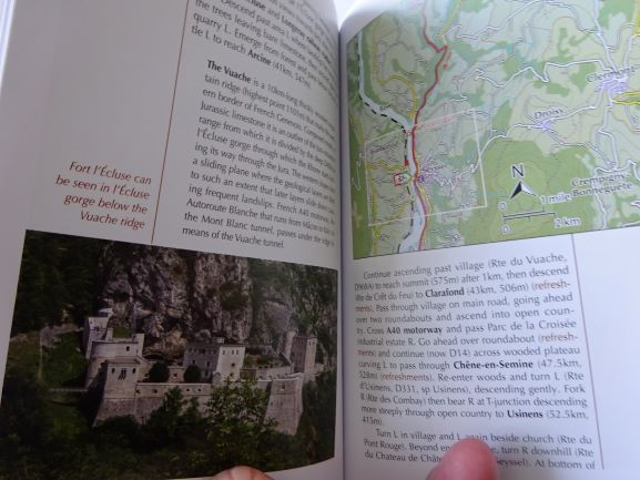The River Rhone Cycle Route - sample pages