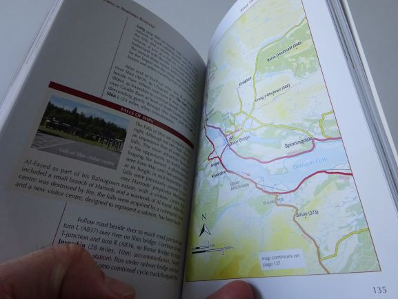 Cycle Touring in Northern Scotland - sample pages