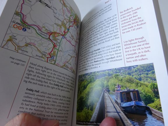 Cycle Touring in Wales - sample pages
