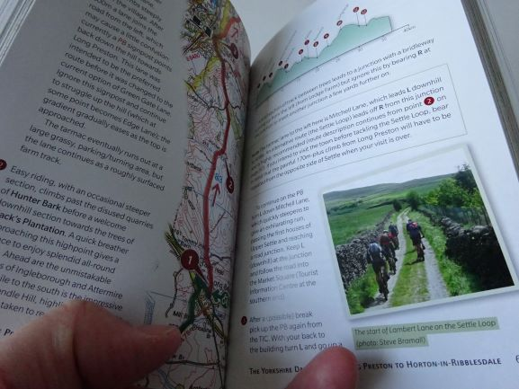 Cycling the Pennine Bridleway - sample pages