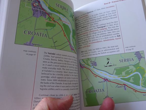 Danube Cycle Way Vol 2 sample pages