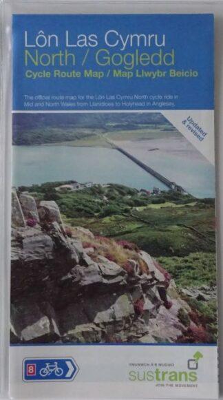 Lon Las Cymru North Sustrans Map
