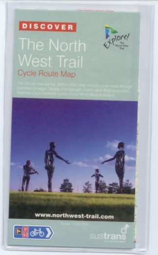 North West Trail Sustrans cycle map