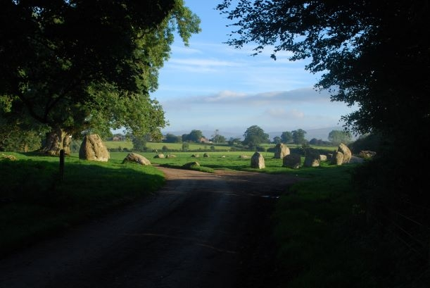 Long Meg stone circle near Penrith