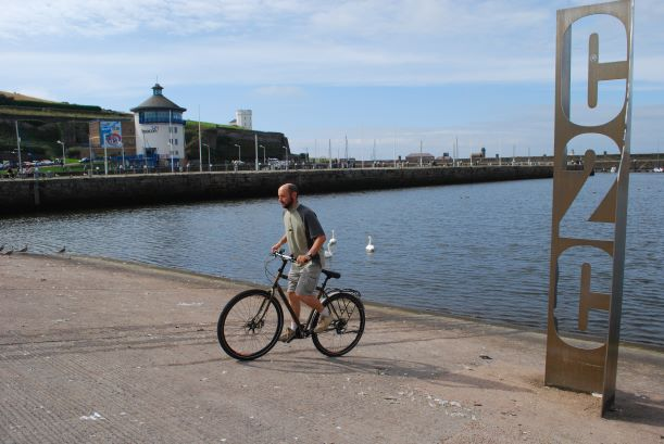 Start the C2C after dipping your wheel in the Irish Sea