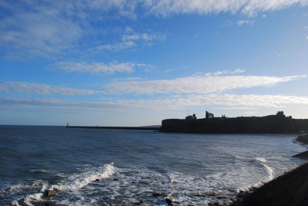 Tynemouth Priory is near one of the finish points of the C2C on the east coast