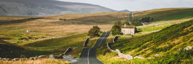 Best Cycle Staycation List - the Yorkshire Dales