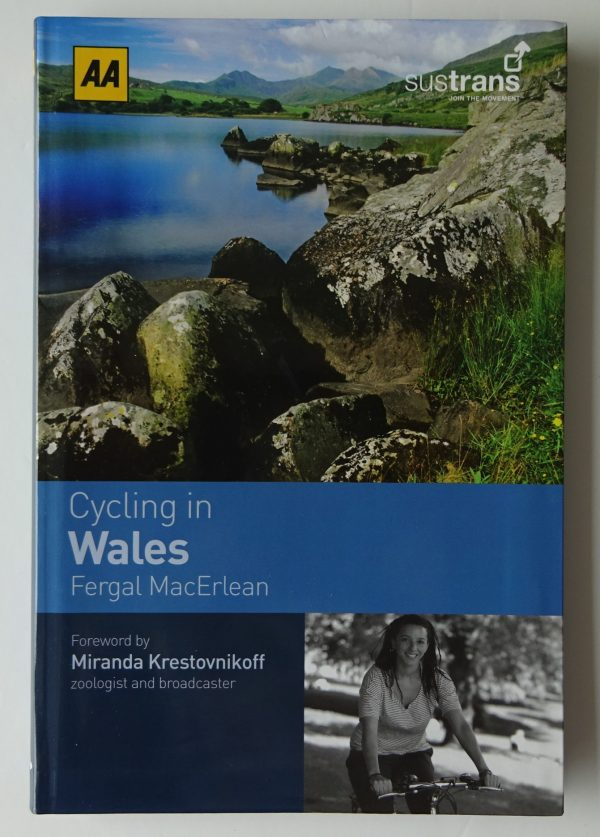 Cycling in Wales AA guide book