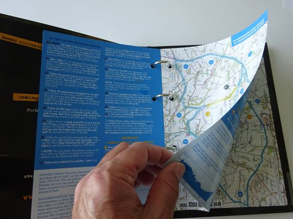 Wiltshire and Dorset Mountain Bike Rides - example pages