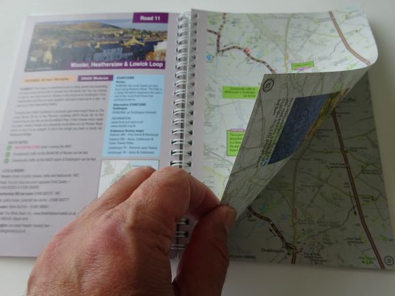 33 Cycle Rides in Northumberland and Tyneside - sample pages