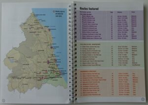 33 Cycle Rides in Northumberland and Tyneside - the routes