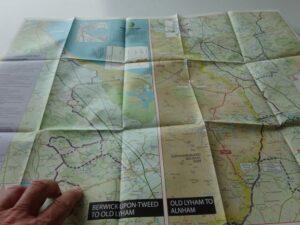 Sandstone Way Mountain Biking Map - northern section