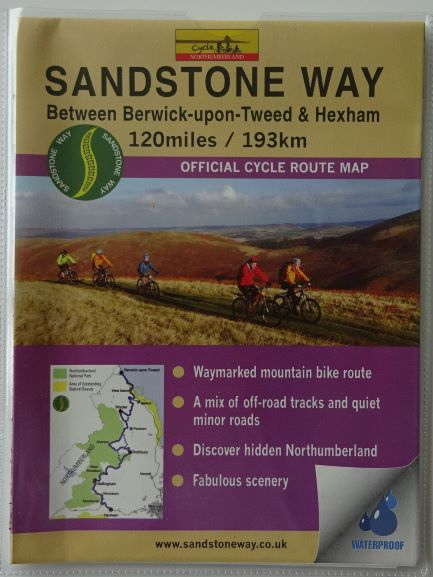 Sandstone Way Mountain Biking Map