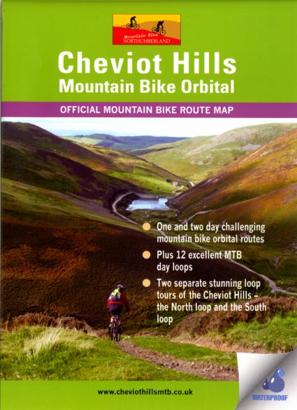 Cheviot Hills Mountain Bike map