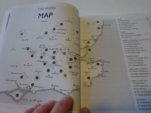 Lost Lanes South - map of routes
