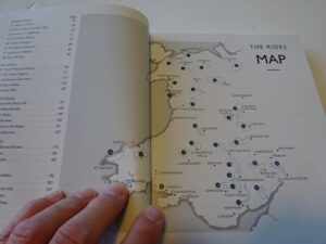 Lost Lanes Wales - map of routes