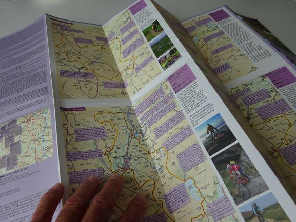 Peak District Off-Road Bike Routes Goldeneye Map