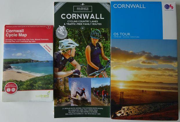 Cornwall cycle maps