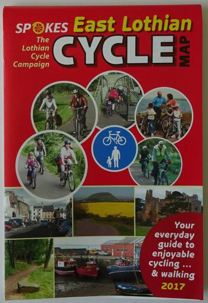 East Lothian Cycle Map - Spokes