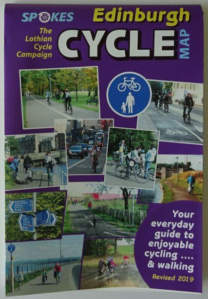Edinburgh Cycle Map - Spokes
