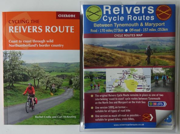 Reivers Route map and guide book